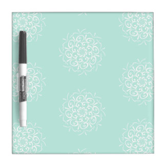 Sea Glass Mandala Dry Erase Board