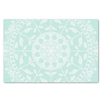 Sea Glass Mandala Tissue Paper