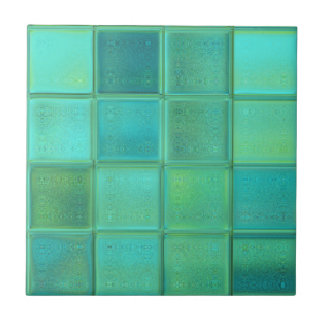 Sea Glass Mosaic Ceramic Tile
