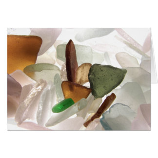 Sea Glass or Beach Glass Note Cards
