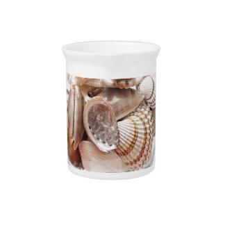 Sea glass pitcher