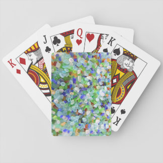 Sea Glass Playing Cards