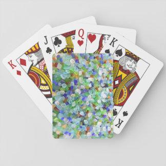 Sea Glass Poker Deck