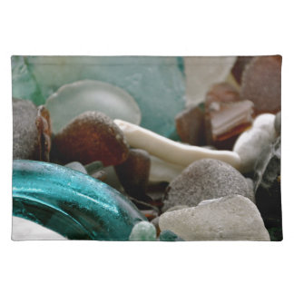 Sea Glass Shards Placemat