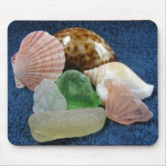 Sea glass - Towel Day Mouse Pad