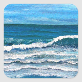 Sea Glory - CricketDiane Ocean Art Square Sticker