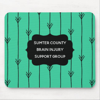 Sea Green Custom Brain Injury Support Group Mouse Pad