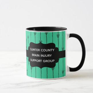Sea Green Custom Brain Injury Support Group Mug