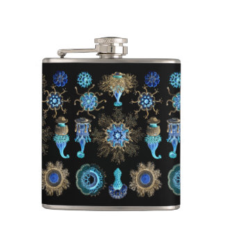 Sea Green Siphonophorae Hip Flask