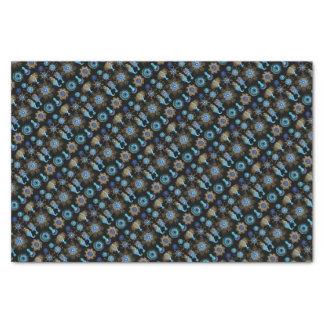 Sea Green Siphonophorae Tissue Paper
