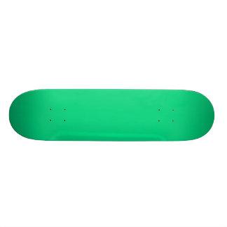 SEA GREEN (solid colour) ~ 19.7 Cm Skateboard Deck