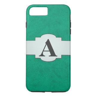 Sea Green Velvet Personalized Home Casino iPhone 7 Plus Case