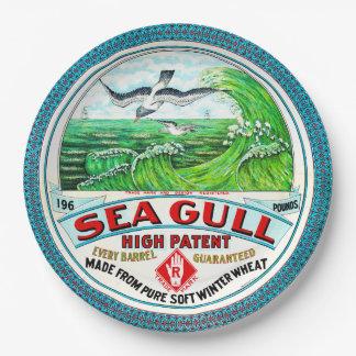 Sea Gull High Patent Flour 9 Inch Paper Plate