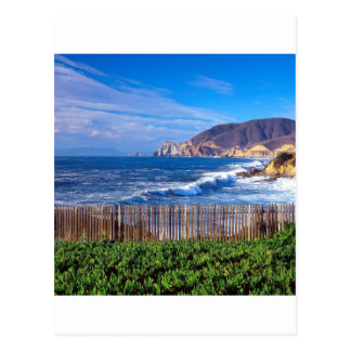 Sea Half Moon Bay California Postcard