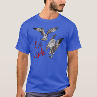 Sea Hawks Shirt—Royal Blue T-Shirt