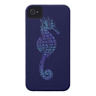 Sea Horse Art on a Blackberry Case for Kids