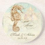Sea Horse Coastal Beach - Personalised Wedding