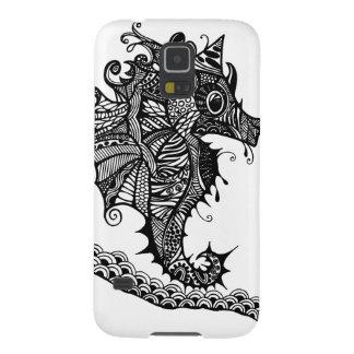 Sea Horse hand drawn art Samsung case