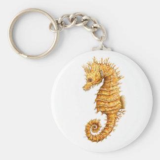 Sea horse Hippocampus hippocampus Key Ring