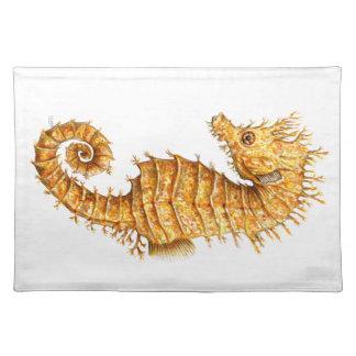 Sea horse Hippocampus hippocampus Placemat