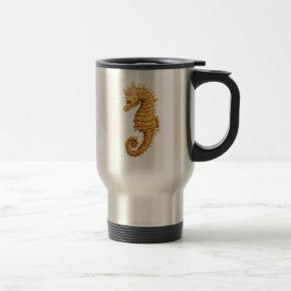 Sea horse Hippocampus hippocampus Travel Mug