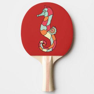 sea horse ping pong paddle