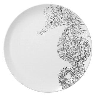 Sea Horse Plate