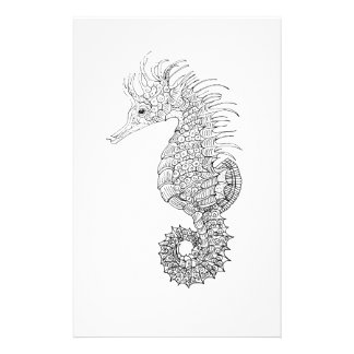 Sea Horse Stationery