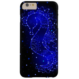 sea horse swims in lights barely there iPhone 6 plus case