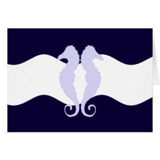 Sea Horses 1 Stationery Note Card