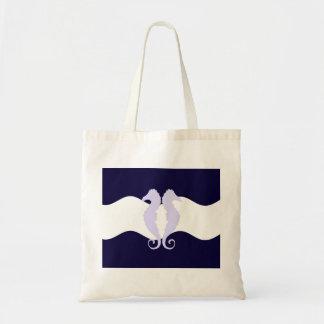 Sea Horses Budget Tote Bag