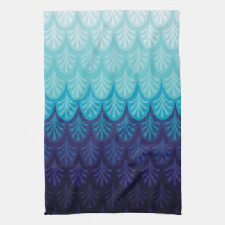 Sea How Blue Tea Towel