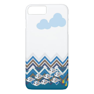 Sea in a line iPhone 7 plus case