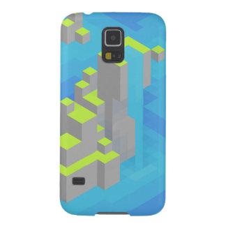 Sea Islands Trixel Art Galaxy S5 Cover