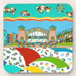 Sea Isle City Band Shell Coasters
