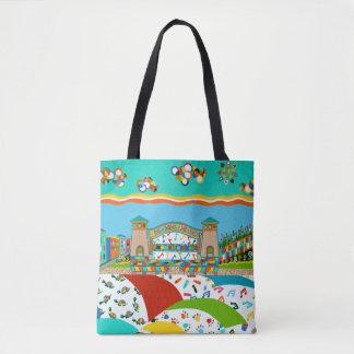Sea Isle City Band Shell Tote Bag