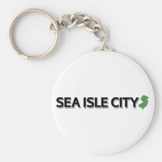 Sea Isle City, New Jersey Key Ring