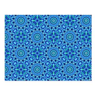 Sea Jewel - Mandala Pattern - Postcard