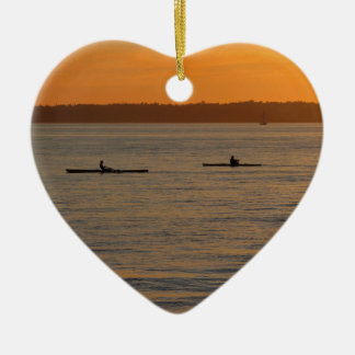 Sea Kayaks Ceramic Ornament