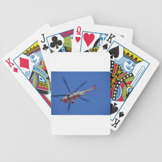 sea king bicycle playing cards