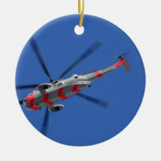 sea king ceramic ornament