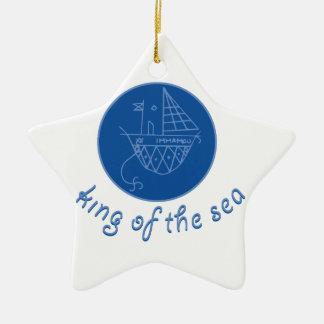 Sea King Ceramic Star Decoration