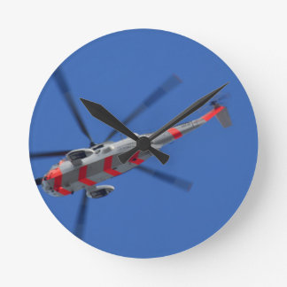 sea king round clock