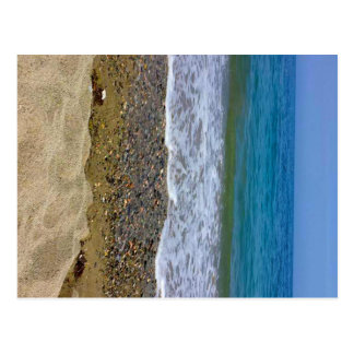 Sea landscape postcard