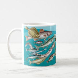 Sea life, Ocean View Fish Mug, Sea Fishing Coffee Mug
