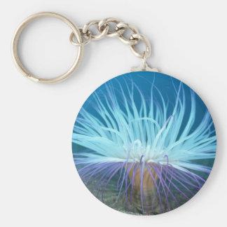 Sea Life Sea Anemone Keychain