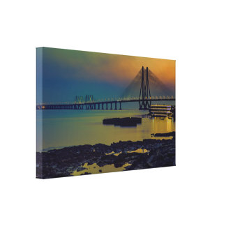 Sea Link India Canvas Print
