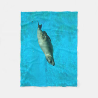 Sea :Lion Fleece Blanket