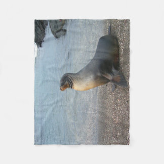 Sea Lion Fleece Blanket