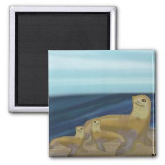 Sea Lion Habitat Magnet